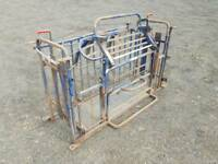 Blue Ironworks sheep turnover crate farm livestock tractor