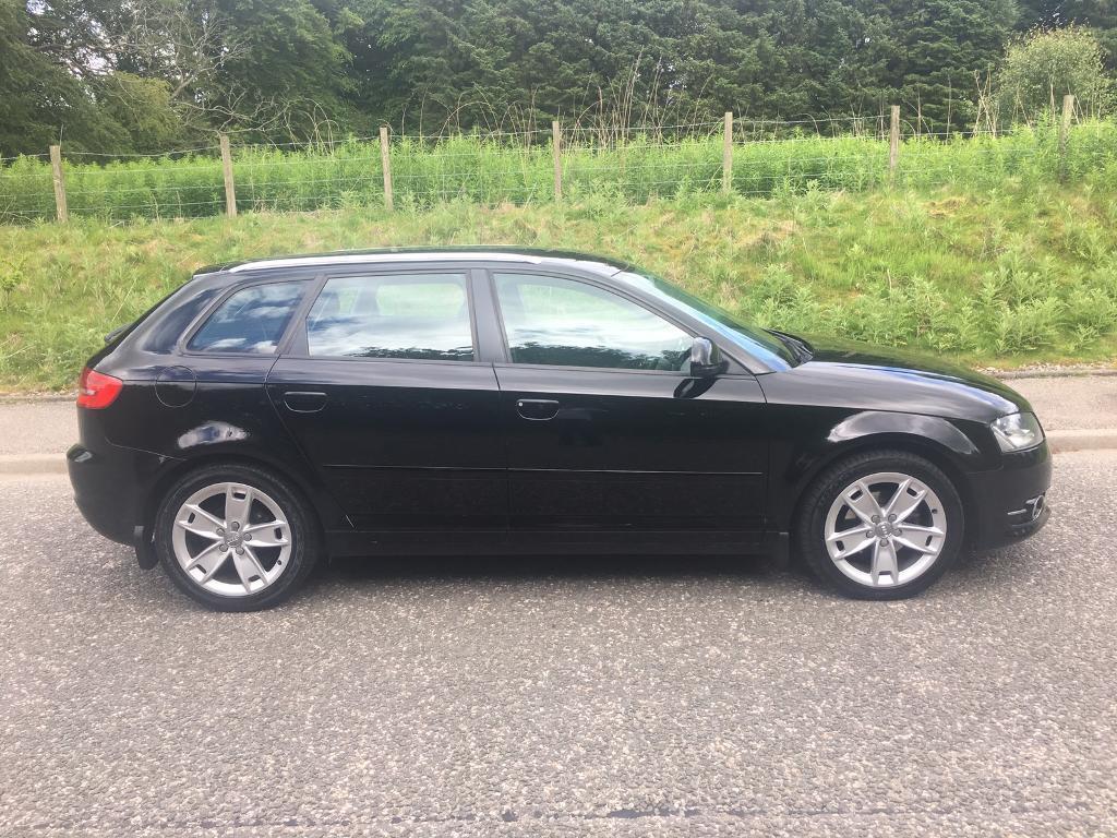 2009 59 Audi A3 1.9 Tdi Sport, Sportback £30 Road Tax