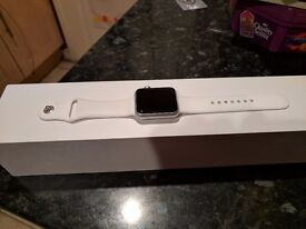 Apple sports watch 42mm 1st gen like brand new with charger & charging dock