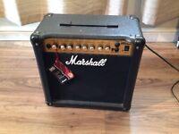 Marshall Guitar Amplifier - MG15DFX
