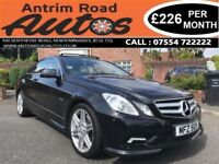2010 MERCEDES E350 COUPE 3.0 CDI SPORT AUTO ** FINANCE AVAILABLE WITH NO DEPOSIT **