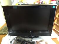 "19"" LCD FLAT SCREEN TV WITH FREE VIEW"