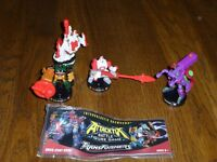 Used Attacktix Marvel Battle figure game Transformers with Dirtboss,Overhaul, skyblast in 2 guises