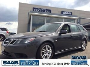 2011 Saab 9-3 Showroom Condition Htd Leather Seats 6 Speed Manua