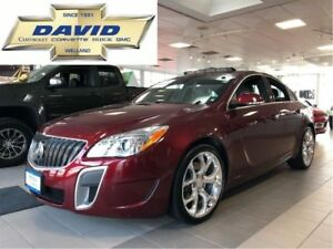 2017 Buick Regal GS AWD/ LEATHER/ SUNROOF/ NAVIGATION!