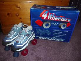 Skechers 4 Wheelers Roller Skates size 4