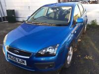 2006 FORD FOCUS 1.6 MANUAL ZETEC CLIMATE PACK LONG MOT EXHAUST BLOWING EML ON