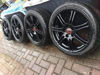 "Genuine 17"" Honda Civic Type R ep3 Alloys ep2 fn2 crv accord"