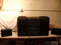 KENWOOD MUSIC CENTRE WITH SURROUND SPEAKERS