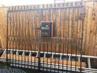 Steel Gates - Driveway/Garden Entrance Etc - Gothic Style