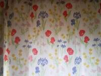 Pretty Laura Ashley floral curtains