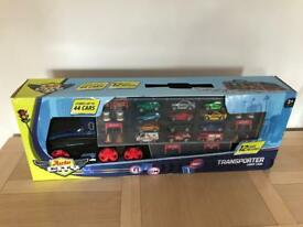 Car transporter & cars BNIB