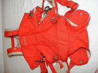 STOKKE My Carrier baby carrier in red - in excellent condition