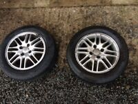 Ford Focus 4 stud alloys good 195/60/15tyres