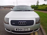"(2000) AUDi TT Quattro 1.8T 225BHP ONLY 70k MILES, FSH, SAME OWNER SINCE 06, FULL LEATHER, 18""ALLOYS"
