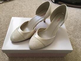 Rainbow Club wedding shoes size 4