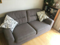 DFS Orla 3 seater sofa and arm chair