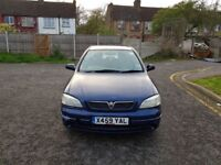 2001 Vauxhall Astra 1.6 i Club 5dr (a/c) Auto @07445775115 Low Mileage+Automatic