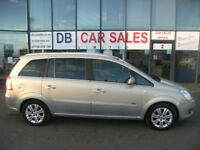 2010 10 VAUXHALL ZAFIRA 1.6 DESIGN 5D 113 BHP***GUARANTEED FINANCE***PART EX WELCOME***