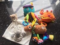 Selection of baby soft toys bundle