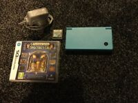 Blue Nintendo DS in excellent condition plus games