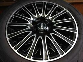 "Alloy wheels 4x16"" Rial Ravenna for Audi, Mercedes, BMW..."