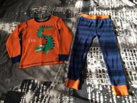 'I am 5' boys Next pyjamas