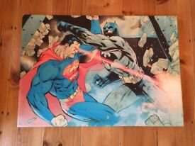 Batman vs Superman Canvas Picture