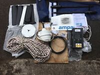 Ampair Aquair 100 Marine wind + water generator. Robust and reliable. Used once so virtually as new.
