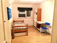 Single Room ( Double Size ) For Renting, Furnished, All Utilities Included