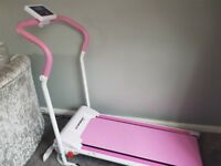 Pink treadmill for sale £100