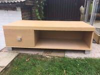 TV Unit with storage drawer