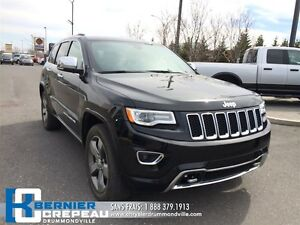 2016 Jeep Grand Cherokee Overland **SUSPENSION A AIR, GPS, TOIT,