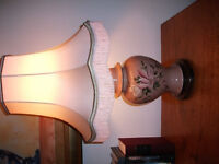 Large Lamp and Lampshade