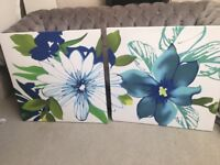 Next floral canvas