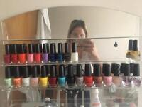 Opi and kiko polish colection