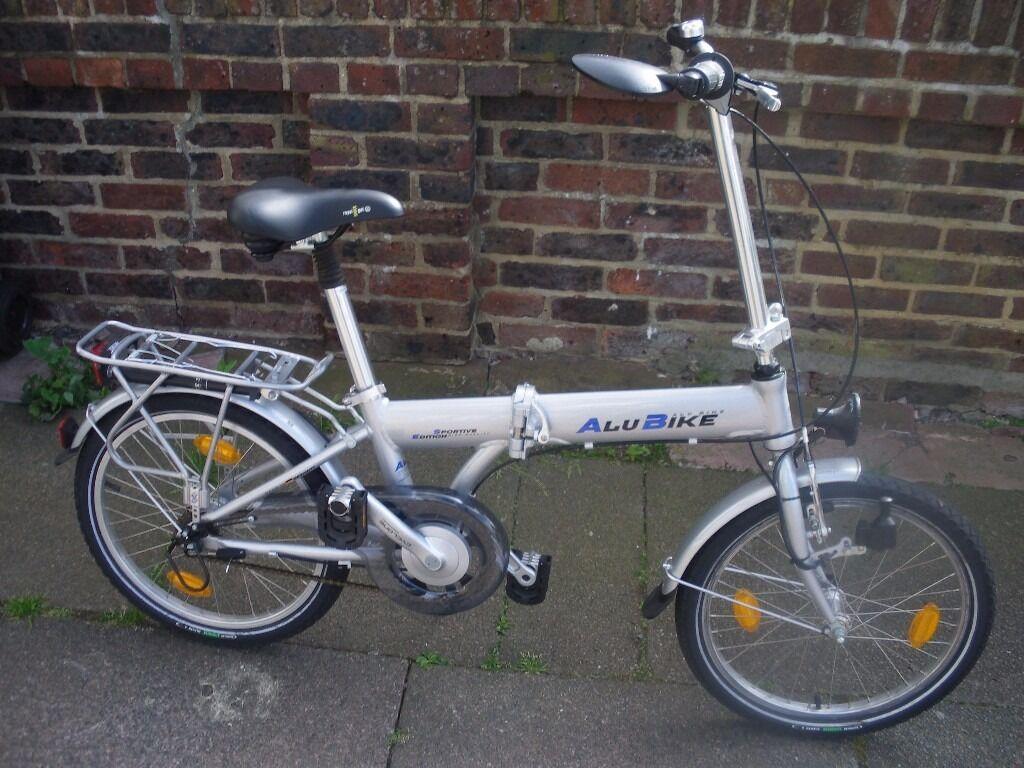 Alu Bike 3spd Folding Bike In Eastbourne East Sussex