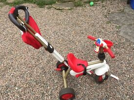 3 way Smartrike, can be used for babies or toddlers, with or without the parent handle.