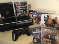 Sony PS3 Console 80GB + 9 Massive Games Including Grand Theft Auto IV, Uncharted 3 & More