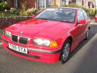 BMW 316I COMPACT 1999 IN BRILLIANT RED