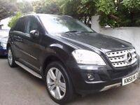 MERCEDES BENZ ML 280 CDI SPORT full auto 7-GTRONIC FACE LIFT BLACK VERY CLEAN LOW MILAGE 7-G AUTO