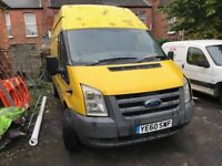 Ford transit, 2010 advert just for parts