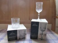 Royal Doulton - Roma Crystal - 4 white wine & whisky tumblers - 24% lead crystal