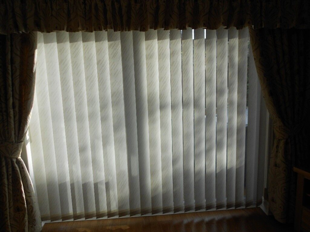 Vertical Blinds To Fit Patio Door Size 94 12 Inches Wide X 79 Inch