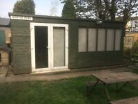 20 by18 shed summerhouse workshop
