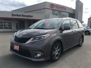 2017 Toyota Sienna SE|SOLD!SOLD!|DVD|SUNROOF|Ext Warranty