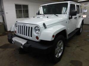 2011 Jeep Wrangler Unlimited Sahara / 4X4 / AUTOMATIQUE /4 PORTE
