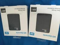 WD Elements 500GB External Hard Drives