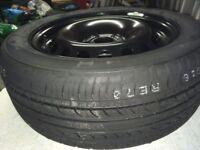 Nissan Juke Spare Wheel and Tyre Unused