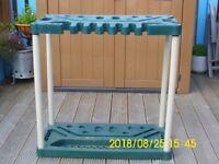 Homebase plastic Tool Rack